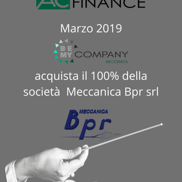 Acquista il 100% della società Meccanica BP srl