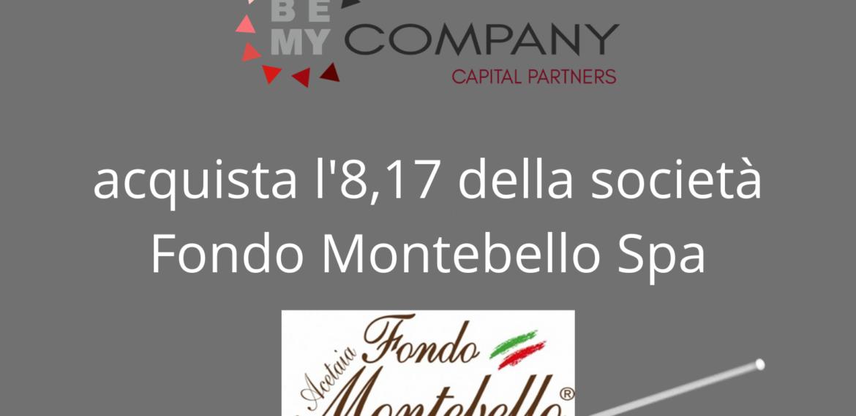 Acquista l'8,17 della società Fondo Montebello Spa